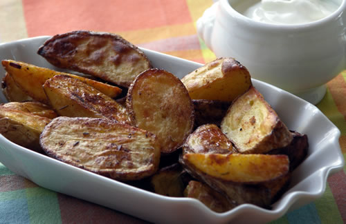 Home Fries (Backkartoffeln aus dem Ofen)