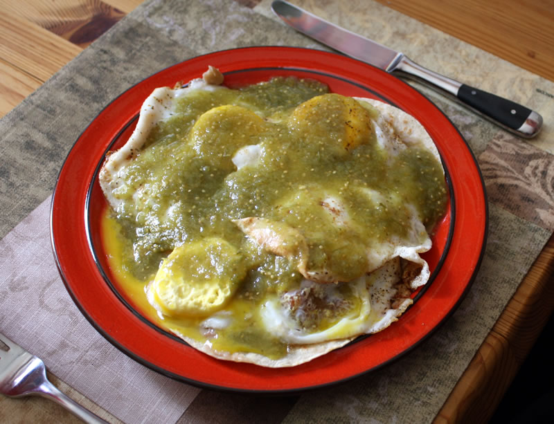 Huevos Rancheros (TexMex-Frühstückseier)