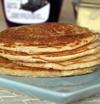 Rezept für Pancakes - amerikanische Pfannkuchen