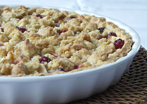 Cranberry-Pear-Pie (Cranberry-Birnen-Kuchen)