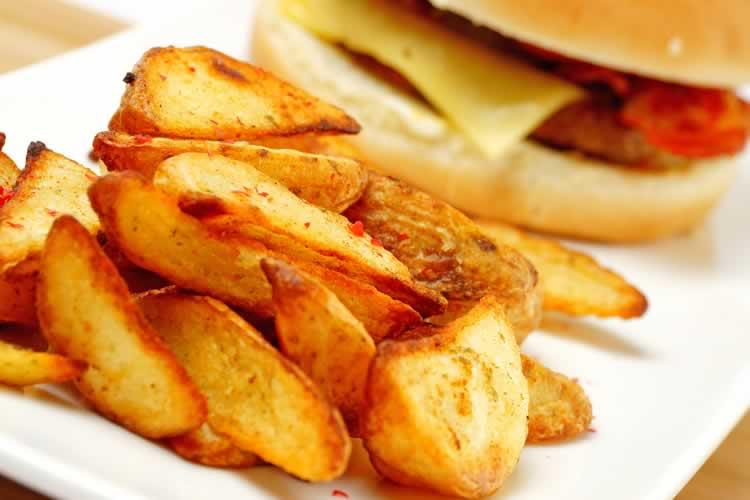 Potato Wedges (Kartoffelecken)