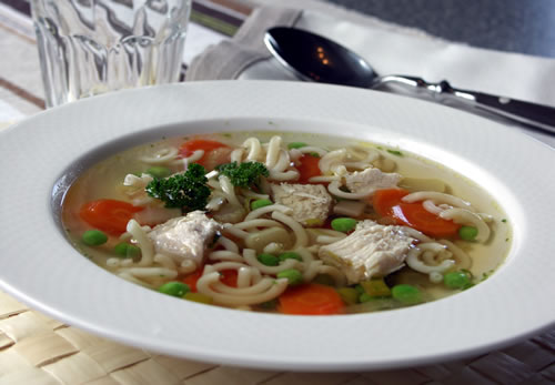 Chicken Soup (Hühnersuppe)