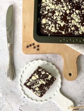 Rezept für saftigen Schokoladenkuchen mit Coca Cola