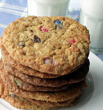 USA-Rezept für Monster Cookies - Riesenkekse