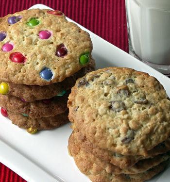 Oatmeal Raisin Cookies - Kekse mit Haferflocken und Rosinen