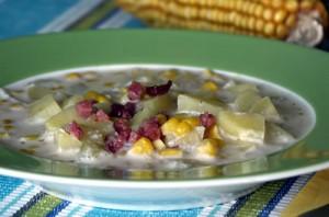 Corn Chowder (Maissuppe)
