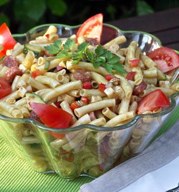 Rezept für Pastasalad Deli Style - Nudelsalat