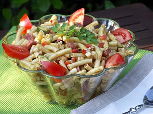 Deli-style Pasta Salad (Nudelsalat)