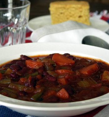 Veggie Chili - Gemüsechili