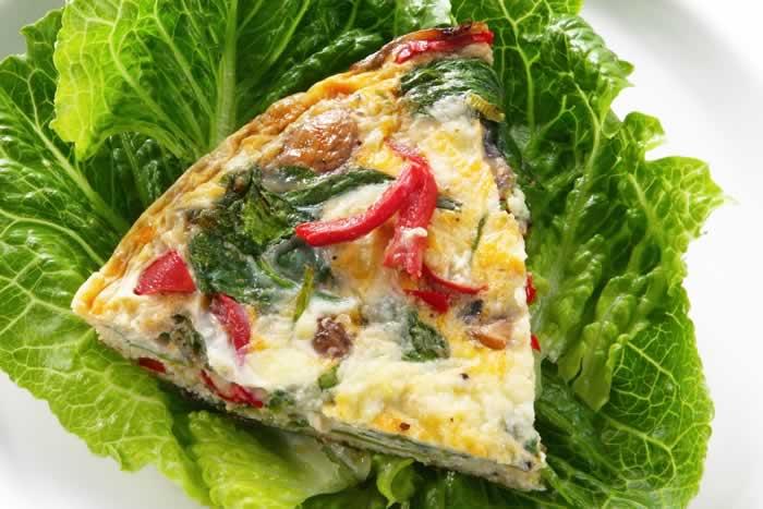 Dennys Scram Slam (Käse-Gemüse-Omelett)