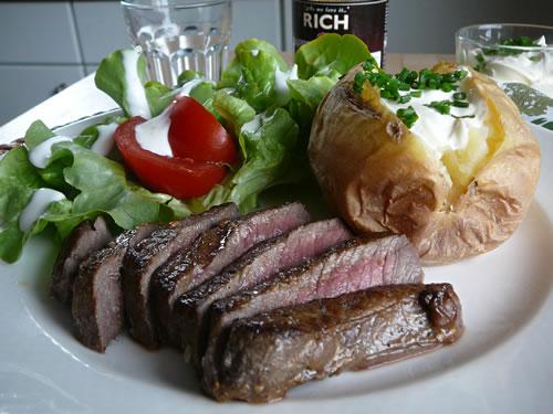 Rezept für Sizzling Steak