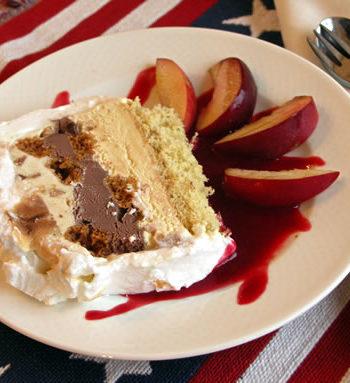Rezept für Baked Alaska - Eisdessert