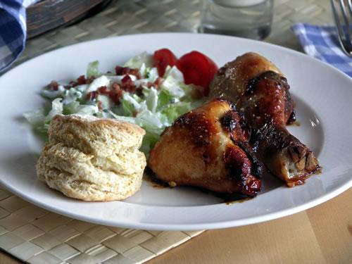 Rezept für Honey Chicken - Honighuhn