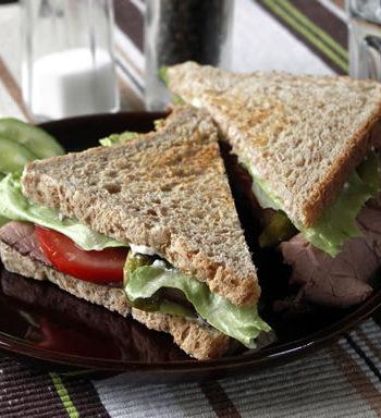 Roast Beef Sandwich aus den USA