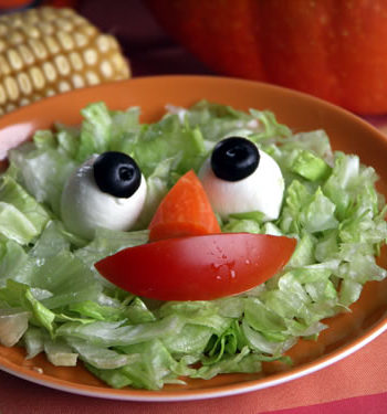 Gruselfood zu Halloween: Aufäpfel