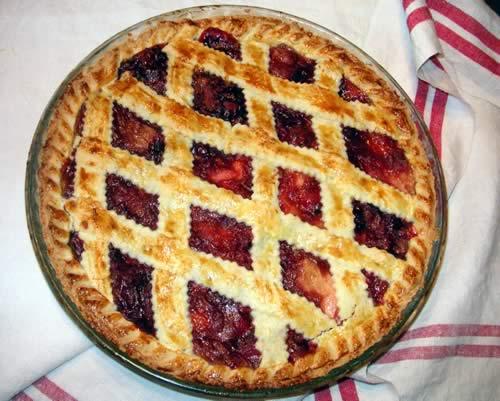 Cranberry Apple Pie (Apfelkuchen mit Cranberries)