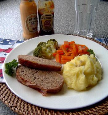 USA-Rezept für Meatloaf - Hackbraten