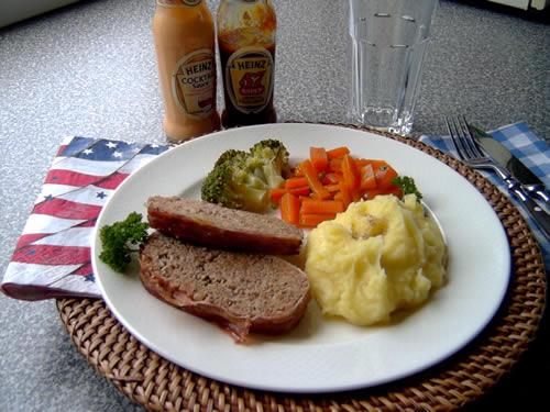 bacon meatloaf speck k se hackbraten usa kulinarisch. Black Bedroom Furniture Sets. Home Design Ideas