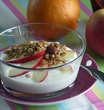 Granola Yogurt / Joghurt mit Knuspermüsli