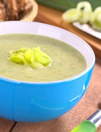 Leek Soup / Lauchsuppe