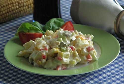American Potato Salad (Kartoffelsalat)