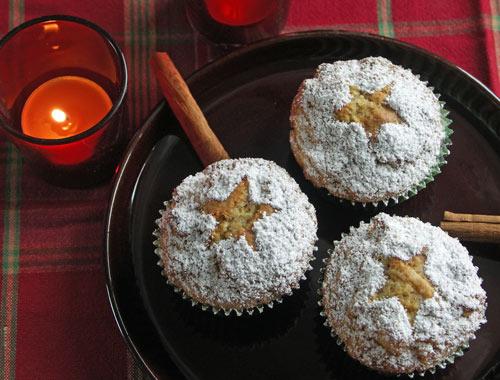 Christmas Muffins (Weihnachtsmuffins)
