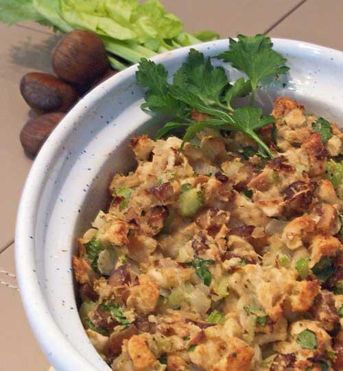 Onion Stuffing - zwiebelfülle für Truthahn