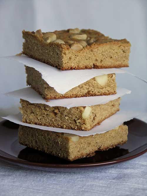 Peanut Butter Brownies - Rezept aus den USA