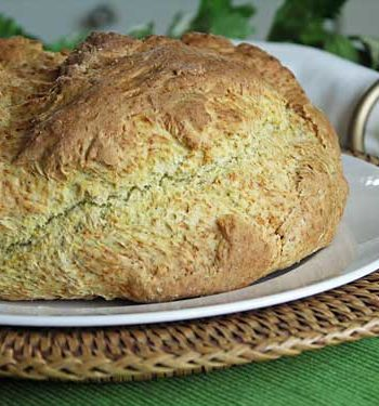 Rezept für irisches Soda-Bread - Sodabrot ohne Hefe