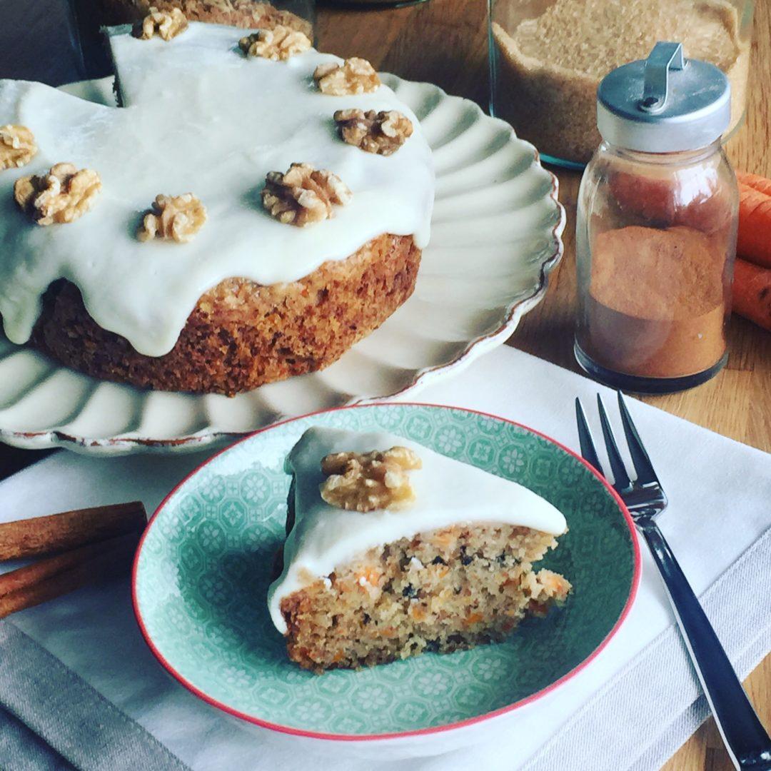 Rezept für Carrot Cake / Möhrenkuchen