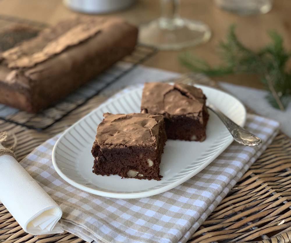 Einfaches Brownie-Grundrezept aus den USA