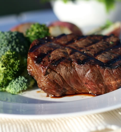 Rezept für Buffalo Steak