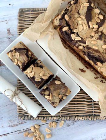 USA-Rezept für peanut Butter Chocolate Brownies