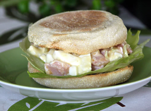 Ham and Egg Sandwich / Käse-Schinken-Sandwich