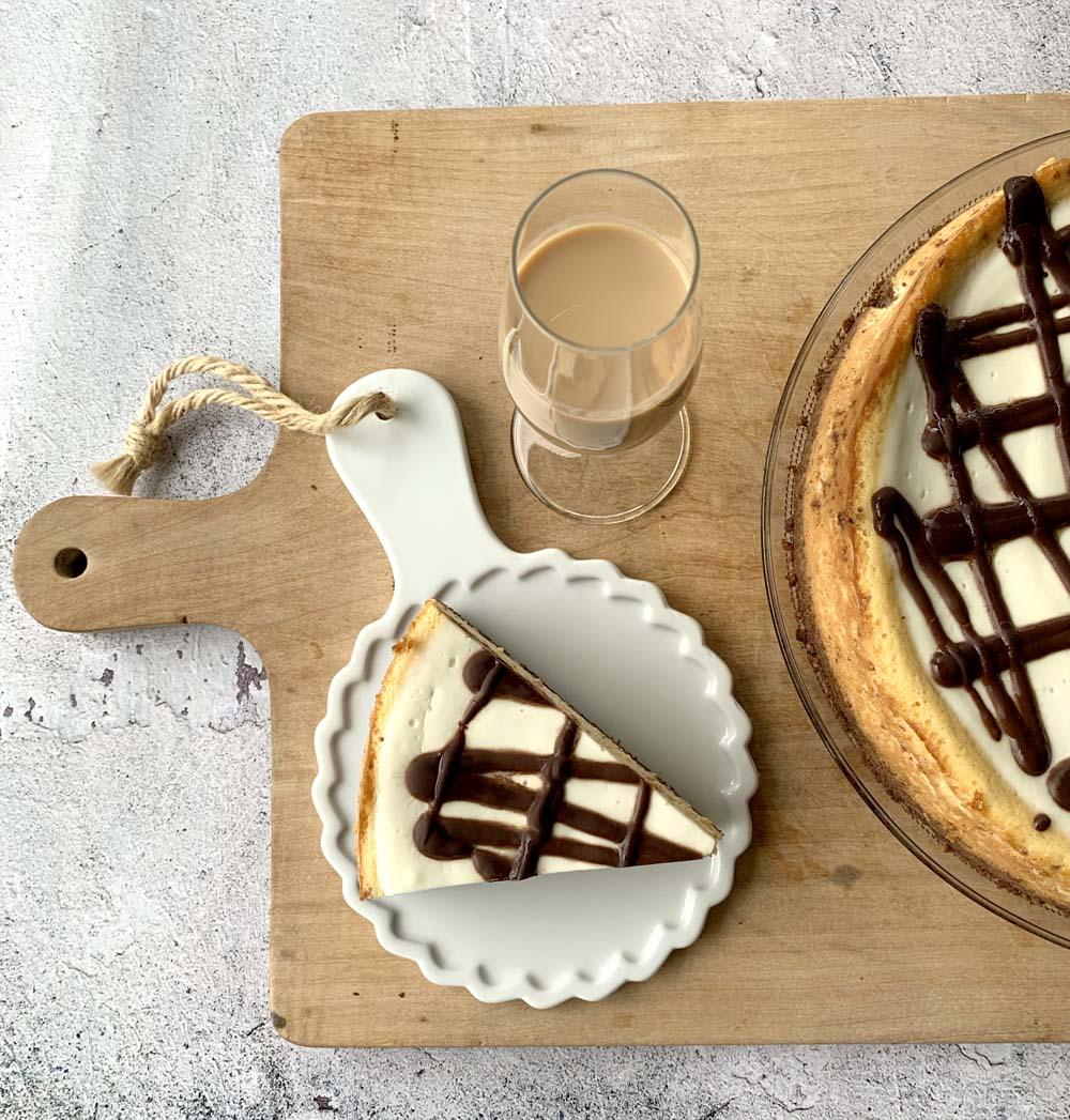 USA-Rezept für Baileys Cheesecake
