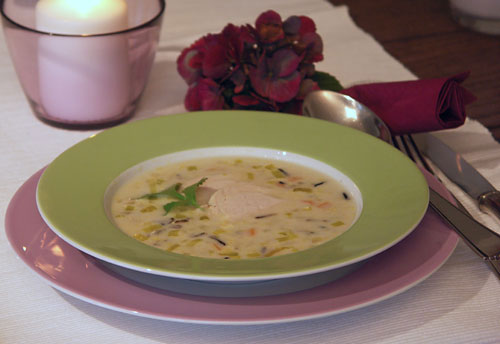 Wild Rice Soup (Wildreis-Suppe)