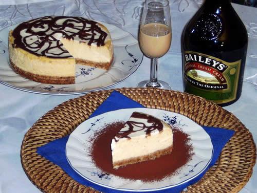 Rezept für Baileys Cheesecake