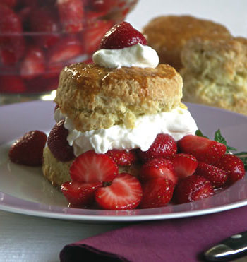 Strawberry Shortcake - Erdbeerküchlein