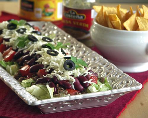 Rezept für taco Salad
