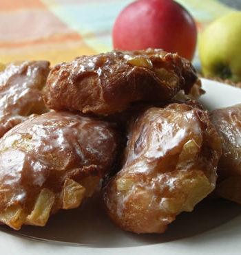 USA-Rezept für Apple Fritters