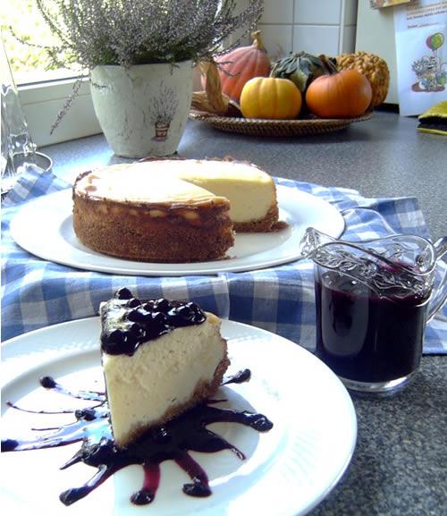 Cheesecake (Käsekuchen Deli-Style)
