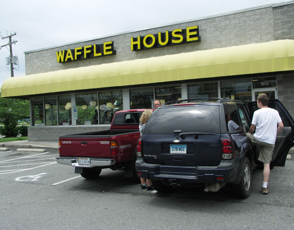 Waffle House Restaurant in den USA