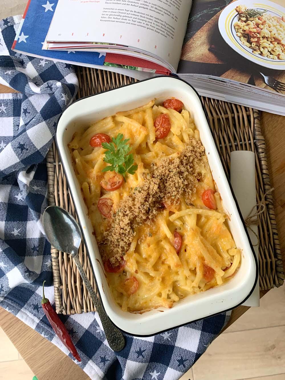 Rezept für Mac and Cheese nach einem Rezept von Jamie Oliver