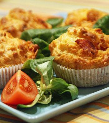 Cheese Muffins / Käsemuffins