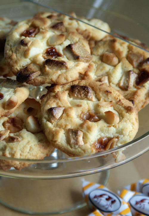USA-Rezept für Super Chunk Cookies - Caramel-Kekse