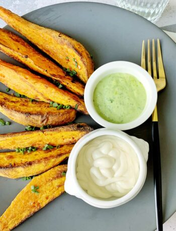 Rezept für Sweet Potato Wedges