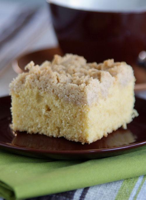 Rezept für Crumb Cake - amerikanischer Streuselkuchen