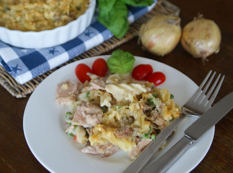 USA-Rezept für Tuna Noodle Casserole