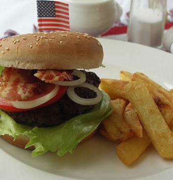 Rezept für Bacon Burger