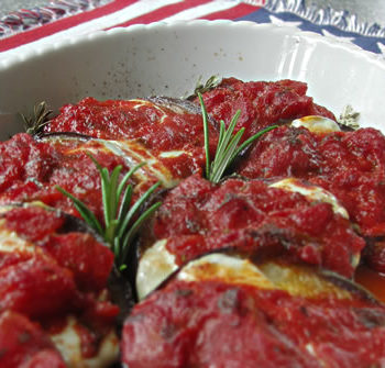 USA-Rezept für Eggplant Parmigiana